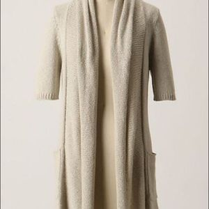 Anthropologie Sparrow Cooling Cardigan